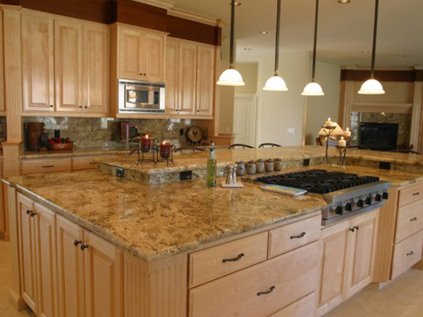 Home kitchen countertop