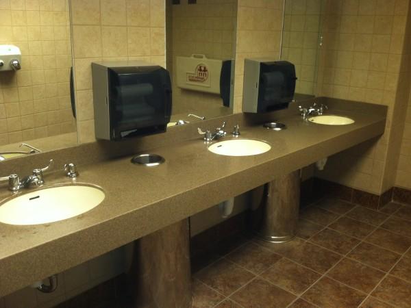 Bathroom Triple Sink
